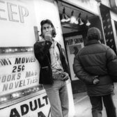 Twenty-five-cent peep shows were the first adult stores to arrive in Times Square beginning in 1966. Enormously profitable, they opened the door for adult movie theaters, strip clubs, and sex stores.