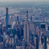 Looking North Over Midtown Manhattan