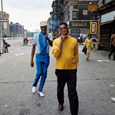 W 115th Street and Lenox Avenue, Harlem, Manhattan, 1970s