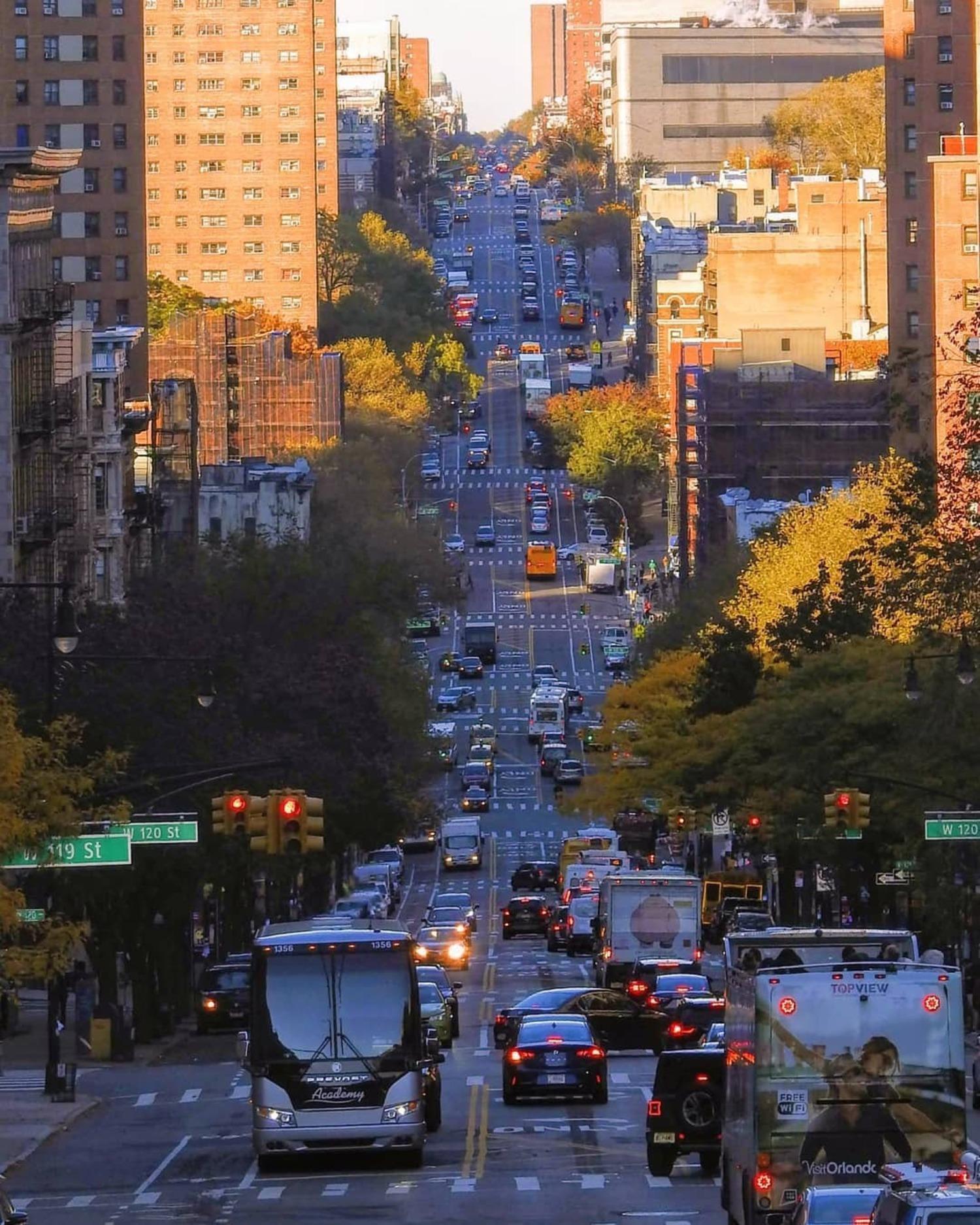 Amsterdam Avenue, Morningside Heights, Manhattan