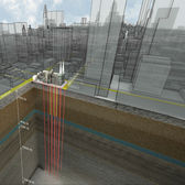 St. Patrick's Cathedral - Geothermal Rendering