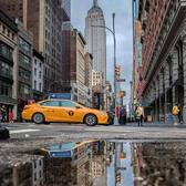 Empire State Building and 5th Avenue