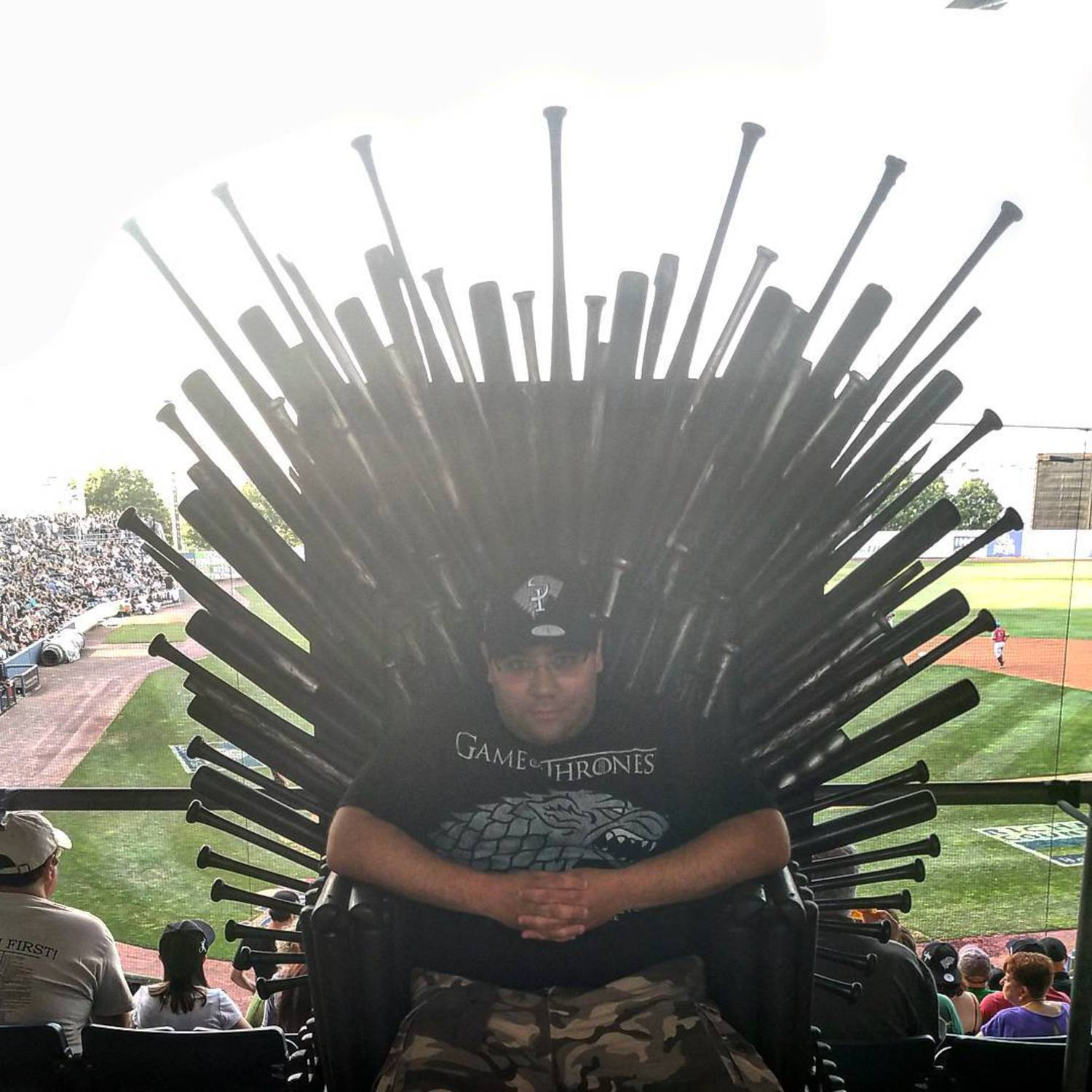 #GoT #statenislandyankees  #Gameofthrones #ironthrone