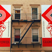 New Shepard Fairey / Interpol Mural