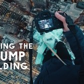 Climbing the Trump Building spire! +900ft above New York City