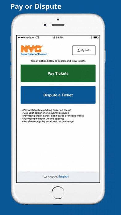 City Of New York Releases Official App To Pay Or Dispute