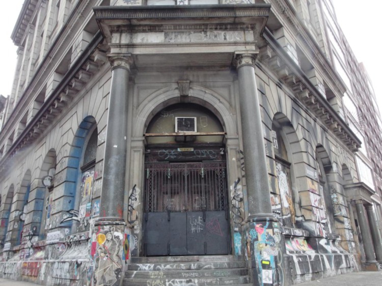 190 Bowery's Famous Graffiti