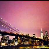 Brooklyn Bridge sunset timelapse