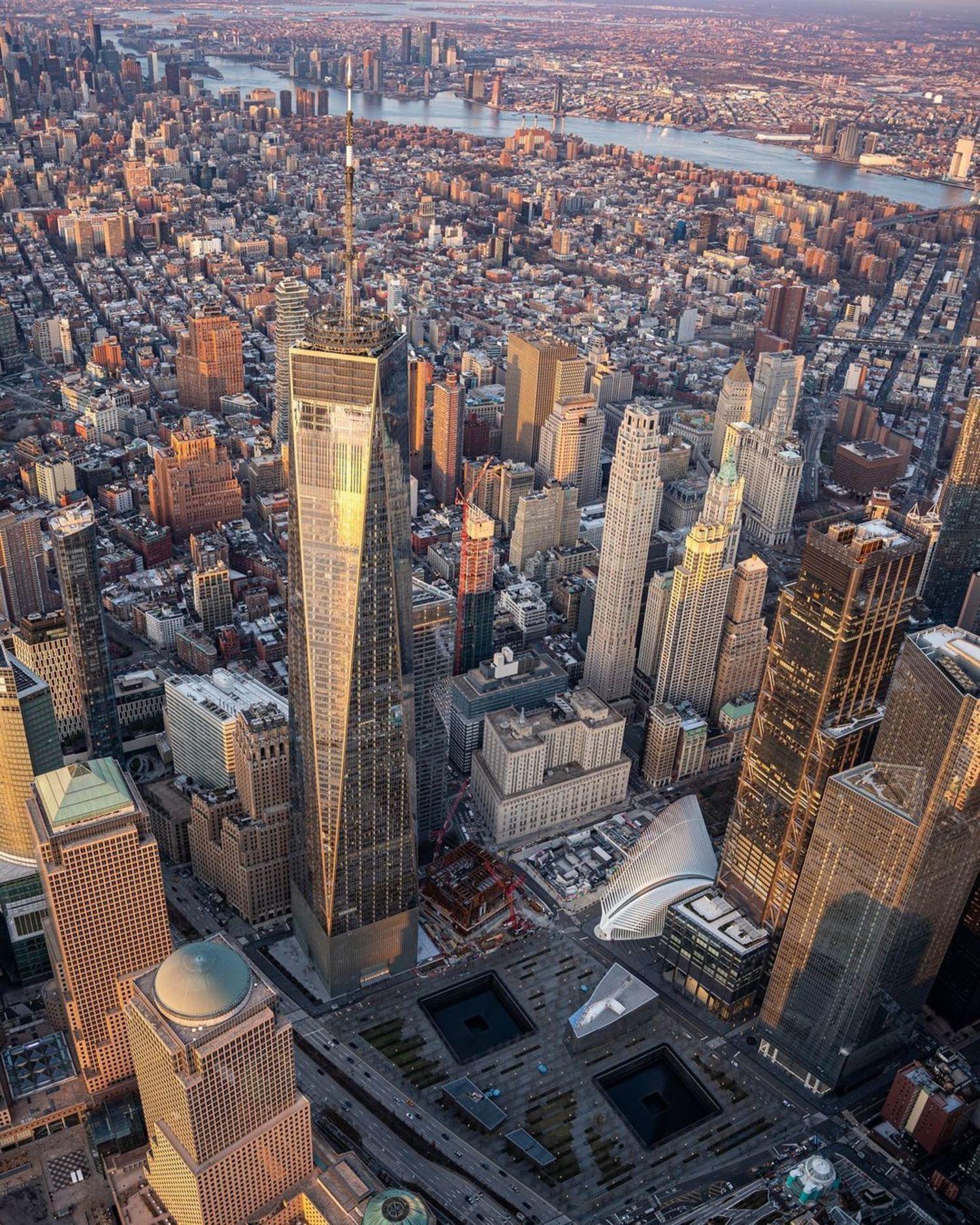 One World Trade Center and Lower Manhattan