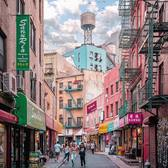 Doyers Street, Chinatown, NYC. Photo via @212sid #viewingnyc #newyork #newyorkcity #nyc