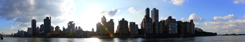 Upper East Side from Roosevelt Island