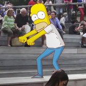 All Of Your Favorite Cartoons Dancing Around NYC