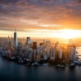 Sunrise Over New York City