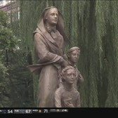 Statue Of Mother Cabrini Unveiled In Lower Manhattan