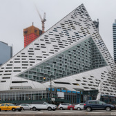 625 W 57th St. (The Pyramid) | Architect: Bjarke Ingels Height: 467 ft (142 m) Type: Residential