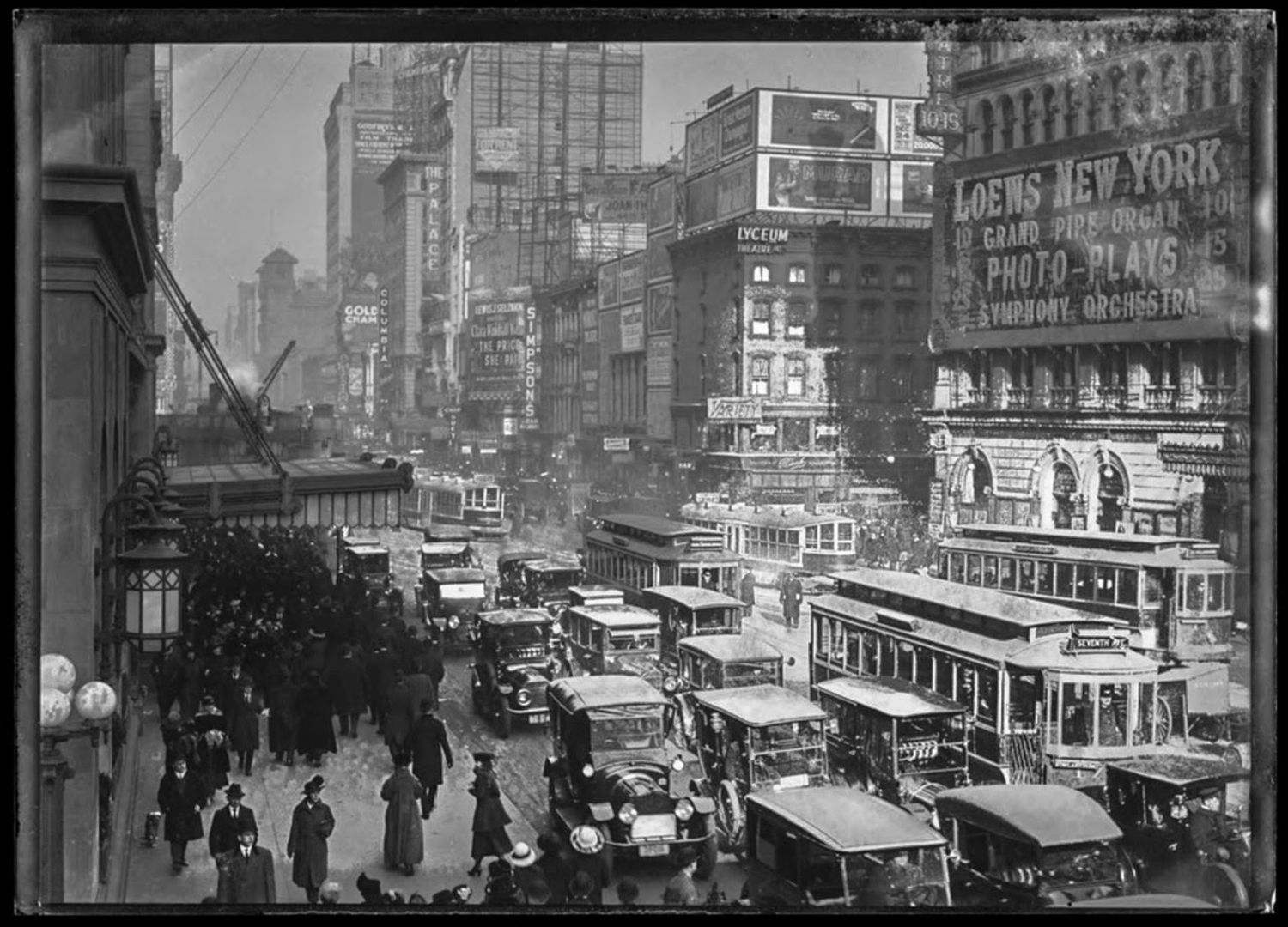 Times Square, 1917