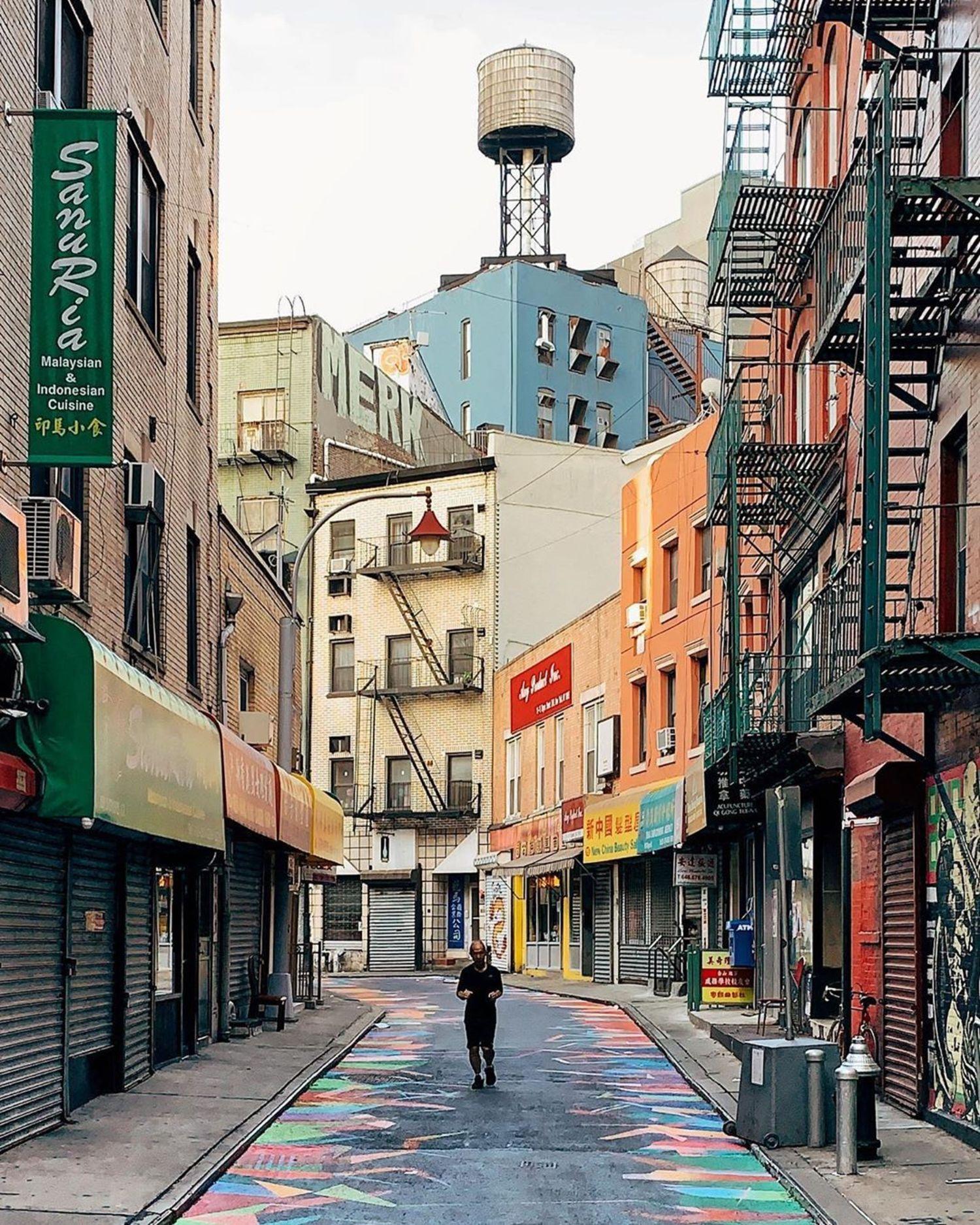 Doyers Street, Chinatown, Manhattan