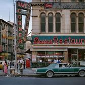 Dave's Restaurant, Broadway and Canal St, Manhattan, 1984