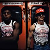 Guardian Angels were a vigilante group that helped to fight crime and assist the NYPD. Here they are on the NYC subway, 1980