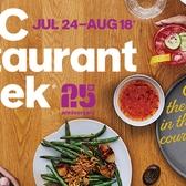 NYC Restaurant Week 25th Anniversary