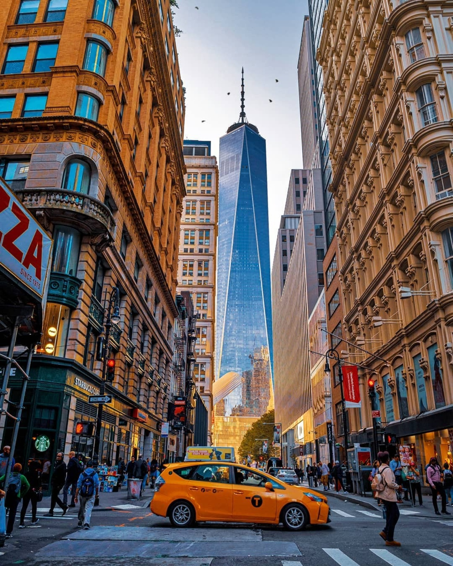 Fulton St and Nassau St, Financial District, Manhattan