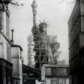The Statue of Liberty in Paris, 1884