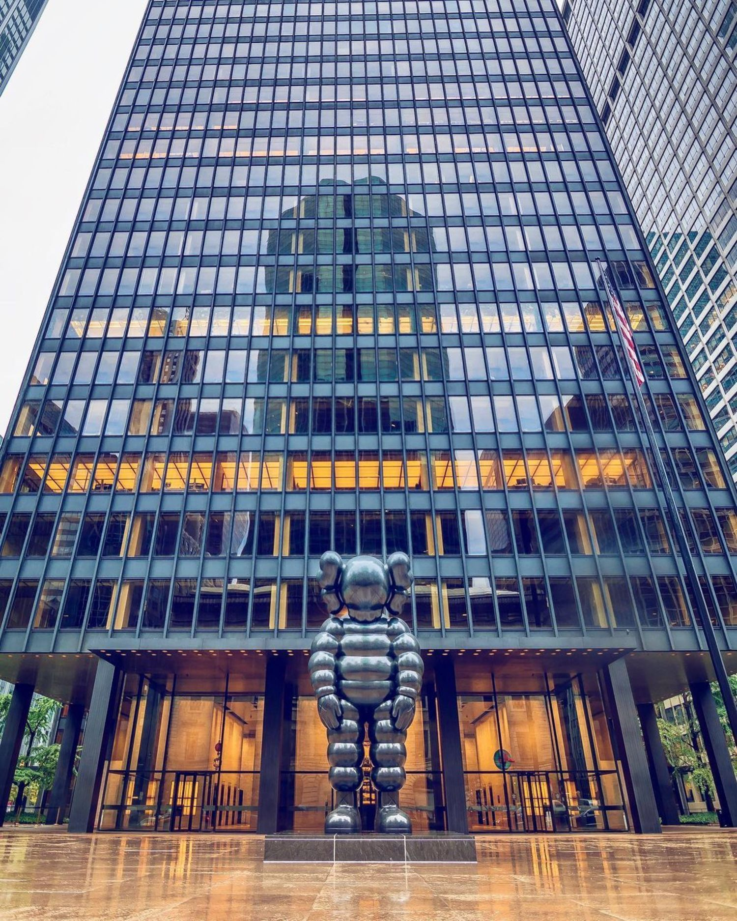 Seagram Building, Park Avenue, Midtown East. Manhattan