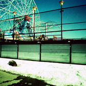 Coney Island Winter