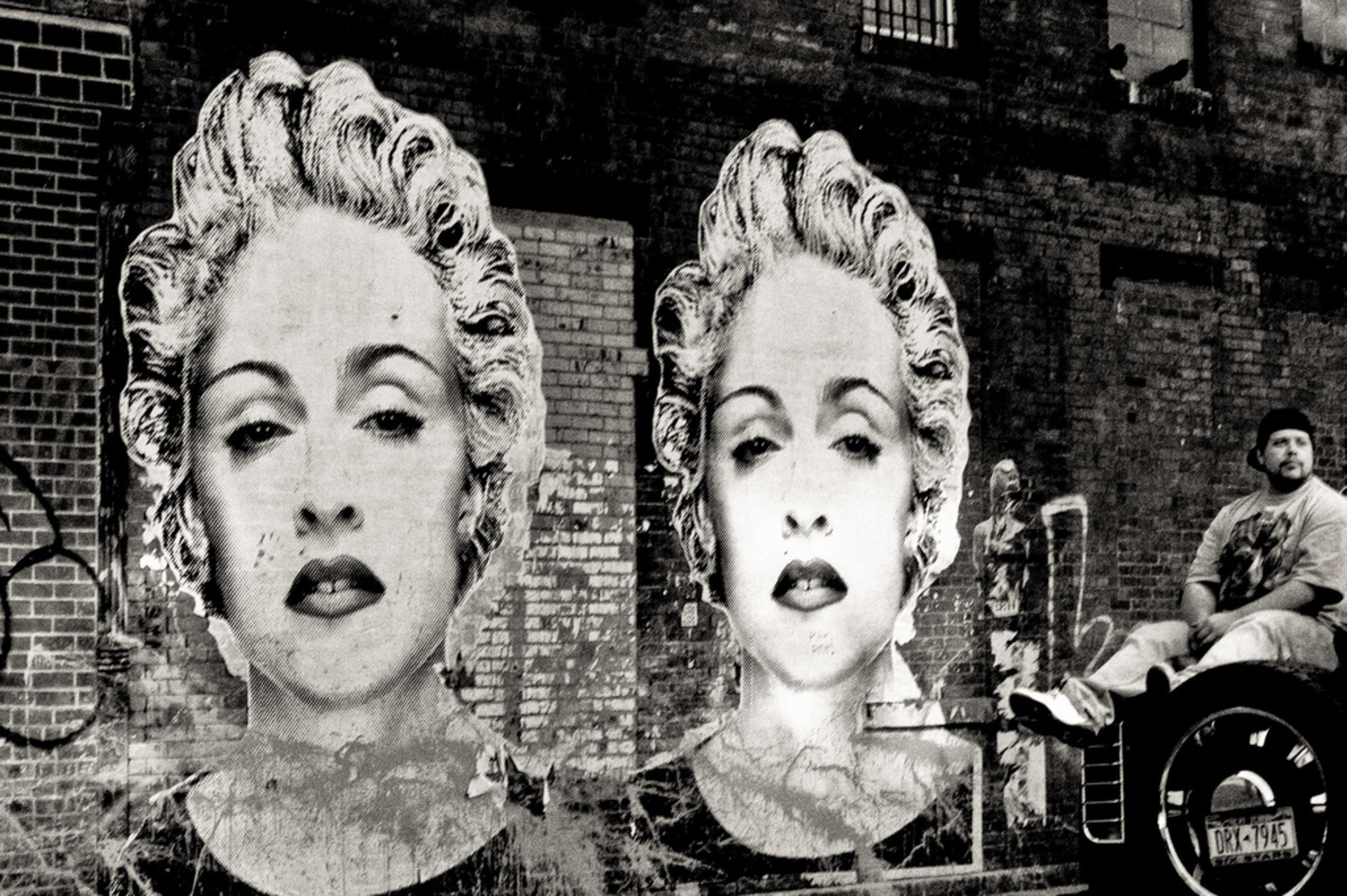 "madonna | Meatpacking District, NYC. <a href=""http://fiveprime.org/blackmagic"" rel=""nofollow"">view with B l a c k M a g i c</a>"