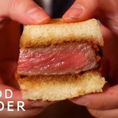 What A $180 Wagyu Sandwich Tastes Like | What's It Taste Like