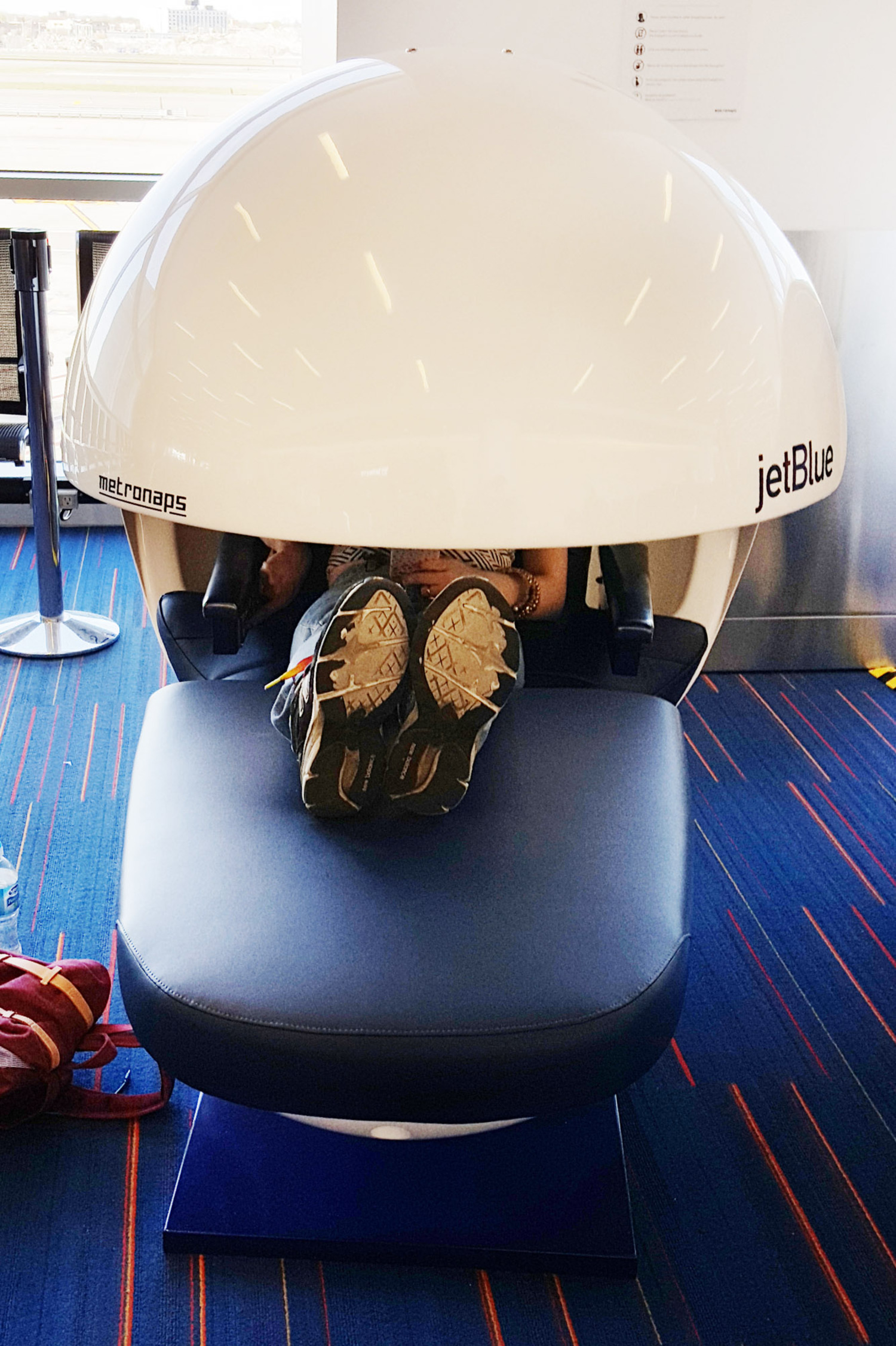 Jet Blue Napping Pods at JFK Airport