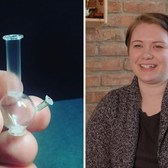 This miniaturist makes super tiny dildos, maxi pads, condoms and bongs