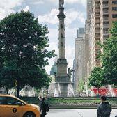 Columbus Circle, New York City. Photo via @melliekr #viewingnyc