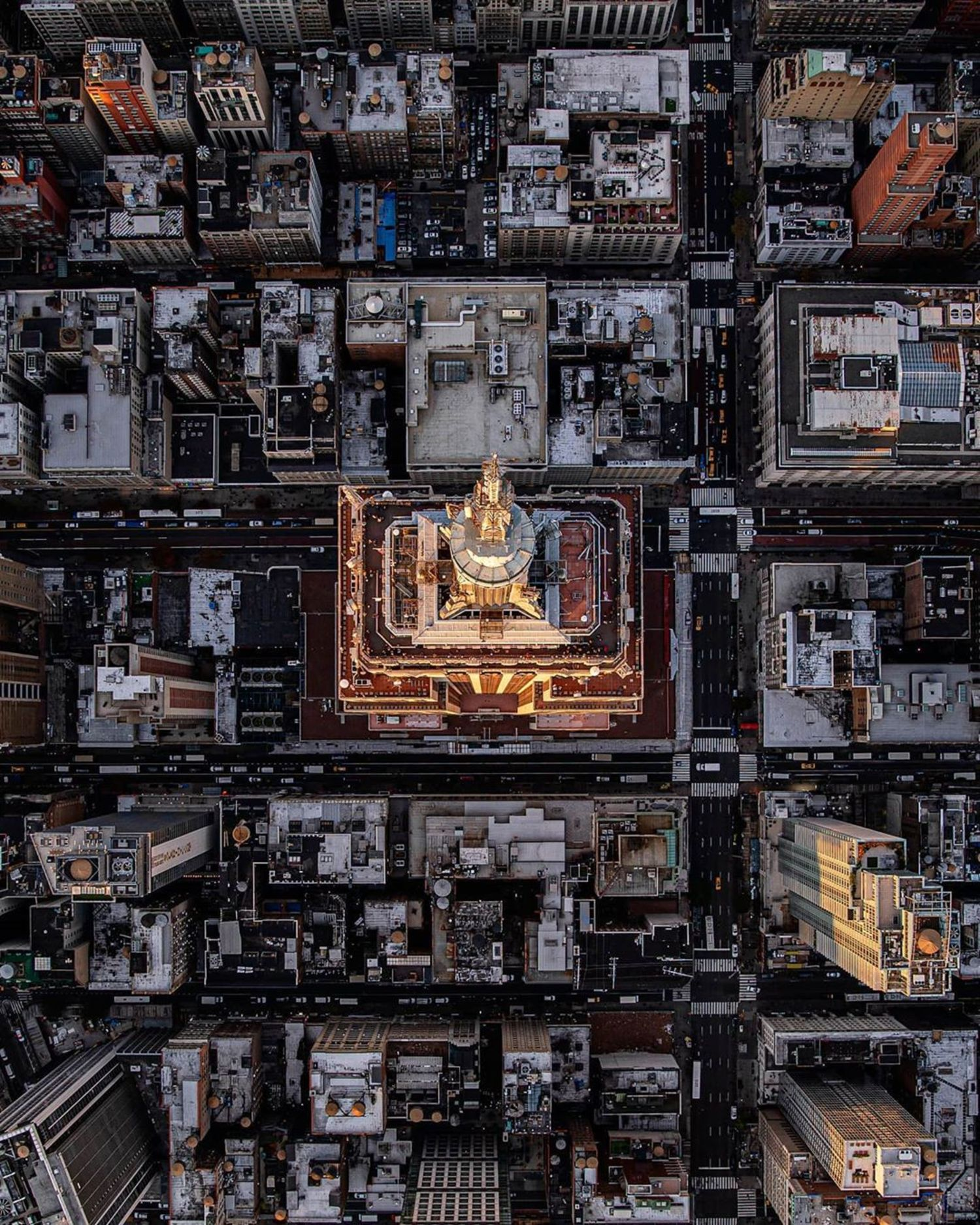 Empire State Building From Above, Midtown, Manhattan