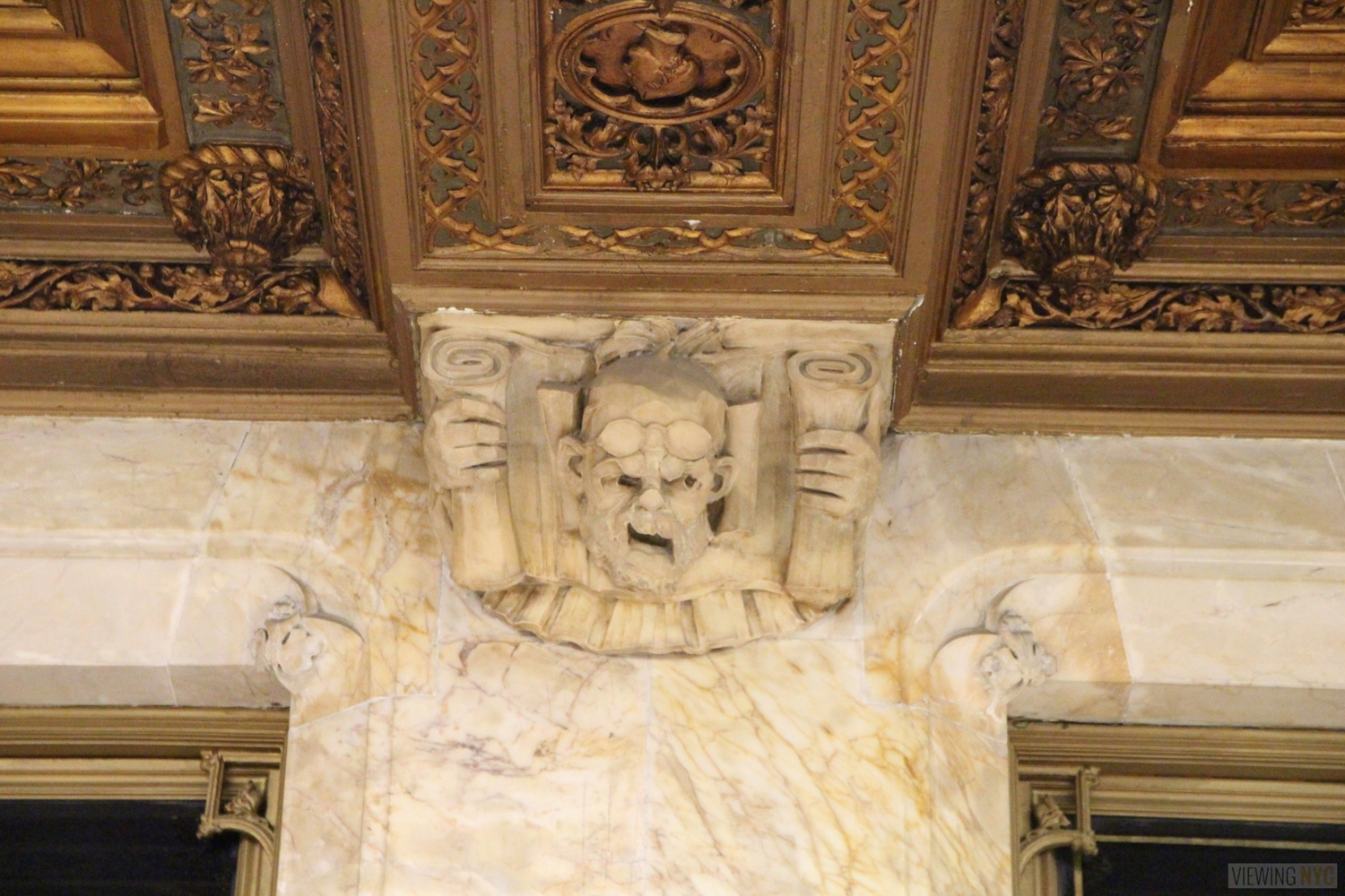 Woolworth Building Lobby and Basement Tour 85