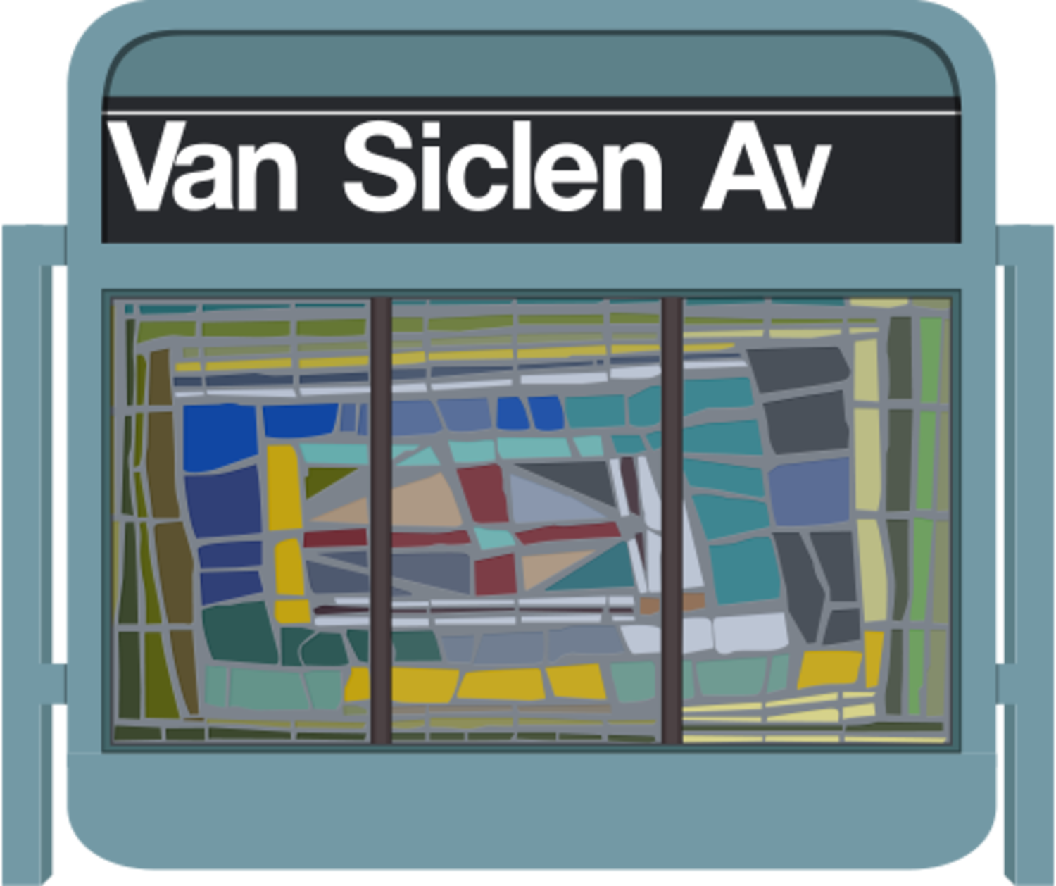 Z Train - Van Sicklen Avenue