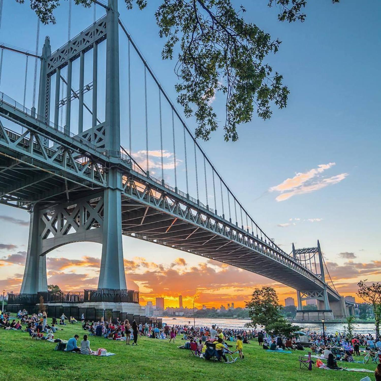 Triborough Bridge, Queens, New York. Photo via @nyclovesnyc #viewingnyc #newyork #newyorkcity #nyc #triborobridge