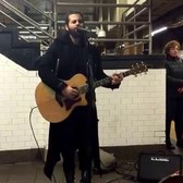 IRO (Ori Rakib) performs at Union Square NYC 1/26/16 Part 1