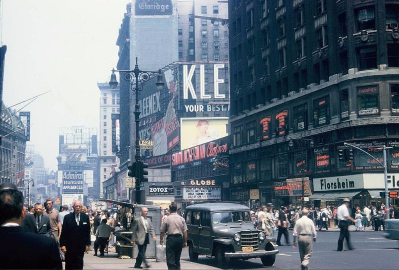 Broadway & 42nd Street, 1959