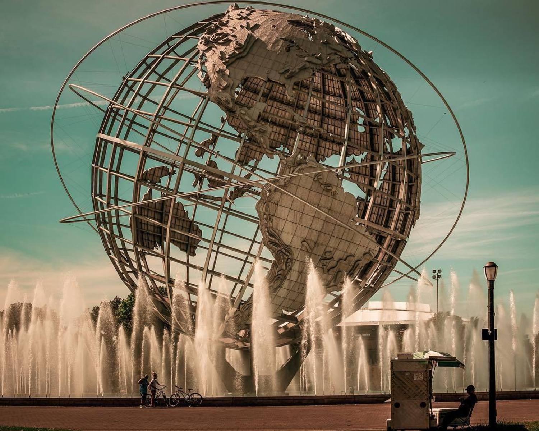Unisphere, Flushing Meadows-Corona Park, New York
