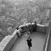 A view from Empie State Building - New York - 1947