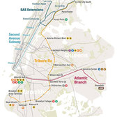Regional Plan Association's Proposed Triboro Rx Subway Line