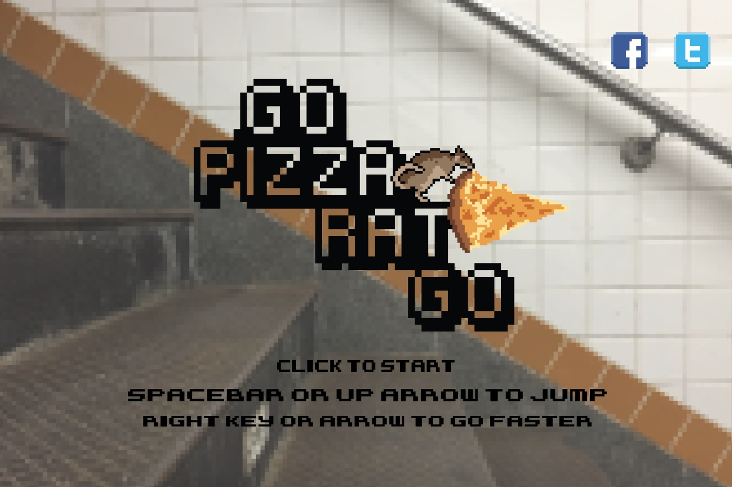 Go Pizza Rat Go Screenshot