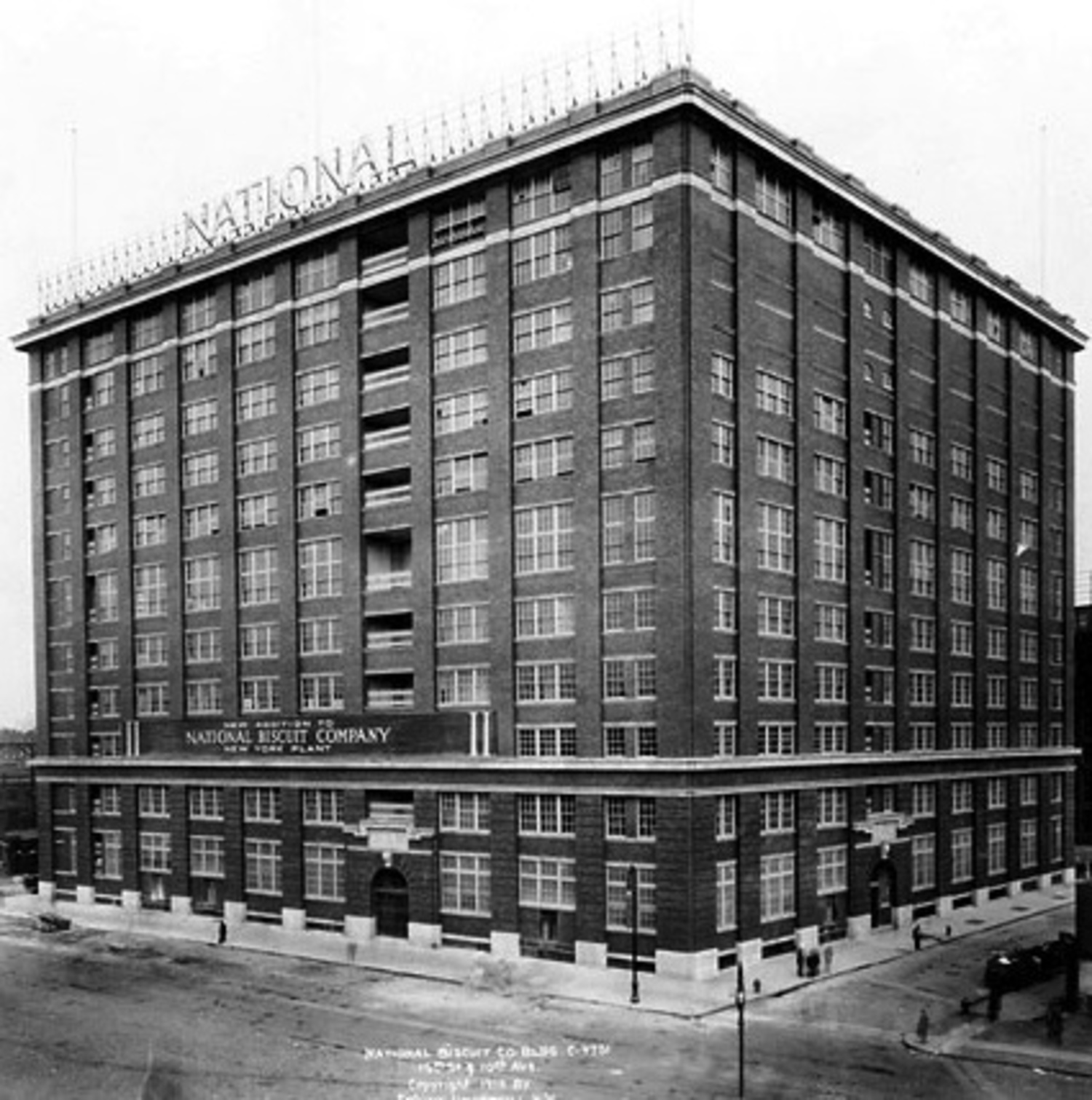 National Biscuit Company Factory, 1912
