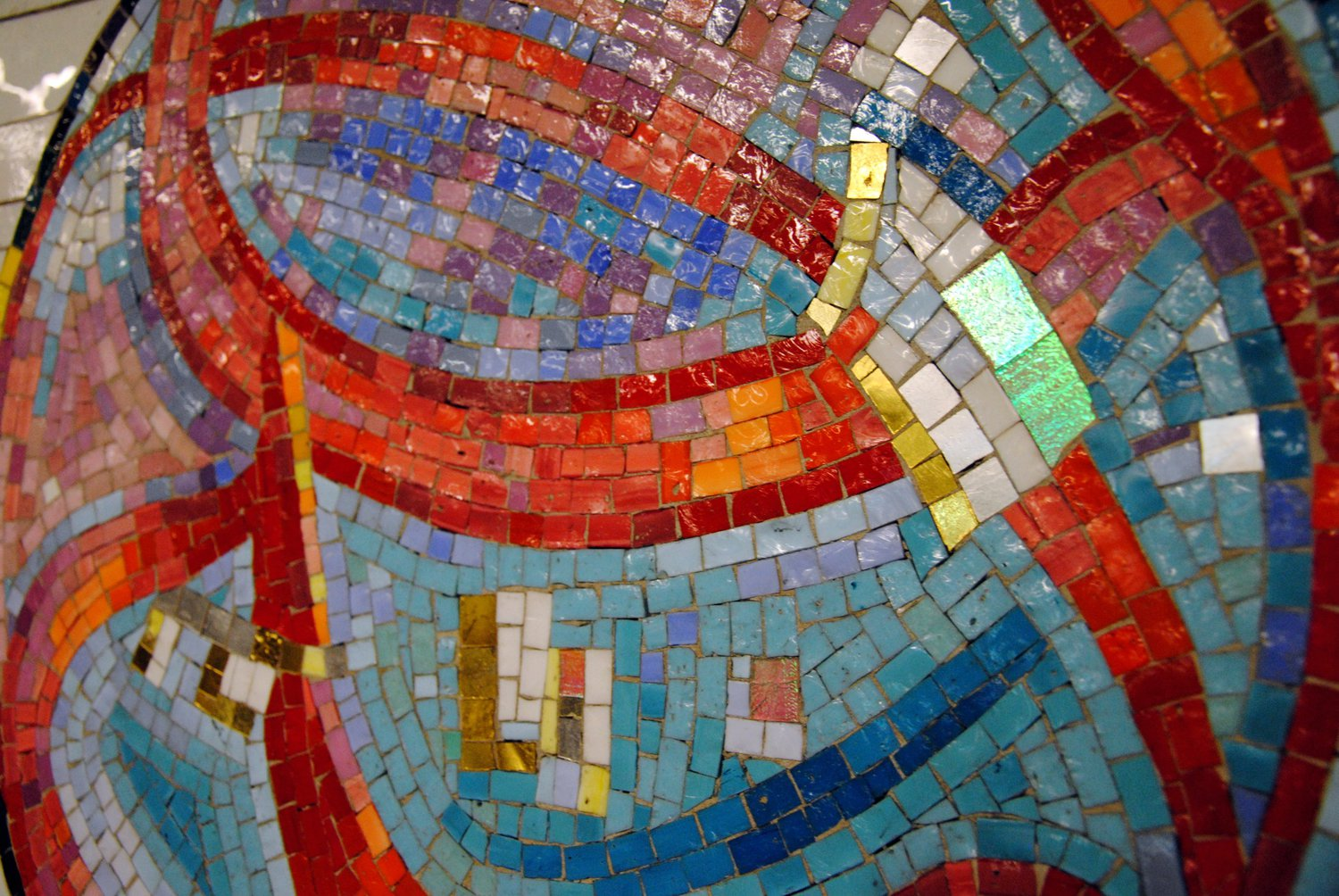NYC Subway Mosaic Art