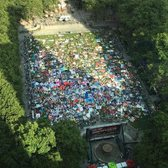 Bryant Park Lawn Rush, Summer Movie Night 2016