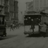 August 8, 1901 Snapshot -  New York City Street (Speed Corrected/Stabilized/Sound)