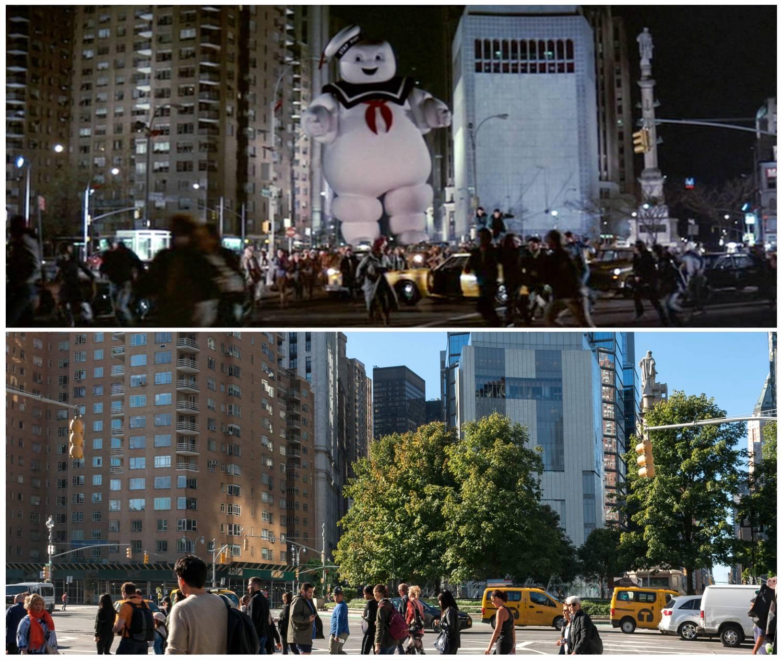 Ghostbusters Columbus Circle