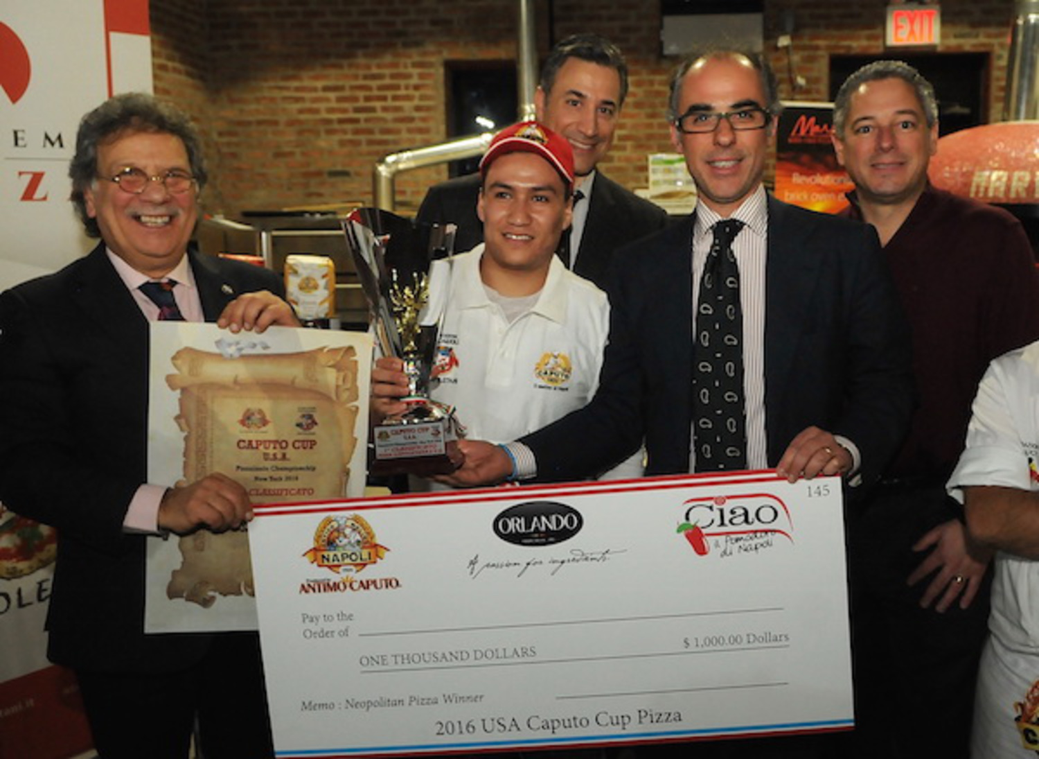 Jesus Solis — Forcella Brooklyn. 1st Place Neapolitan Style — USA Caputo Cup 2016