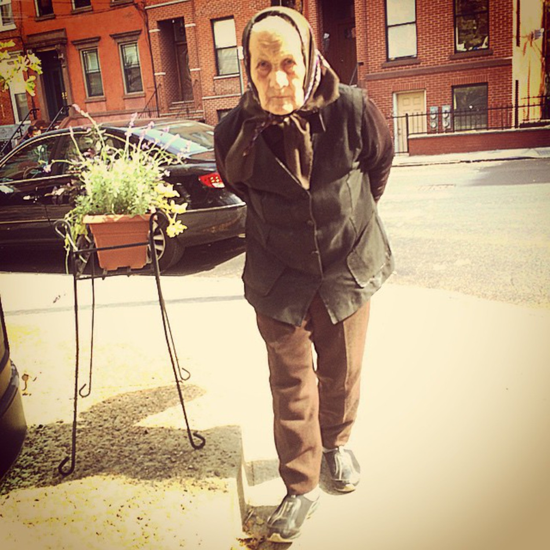 always nice to run into my favorite neighborhood grammy, Berry Street and N 8th Street, Williamsburg, Brooklyn